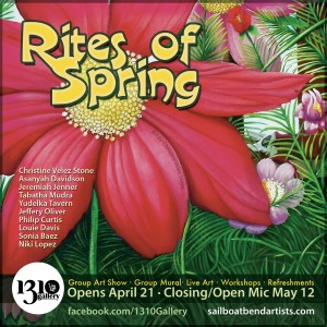 Rites of Spring- Sailboat Bend Artists Community group art show